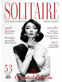 GianaMayra featured in Nov-Dec 2015 edition of Solitaire Magazines @ The Oriental Edition
