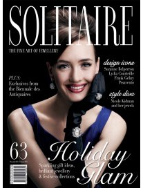 Utty Jewellery and GianaMayra featured in Januari 2013 edition of Solitaire Magazines